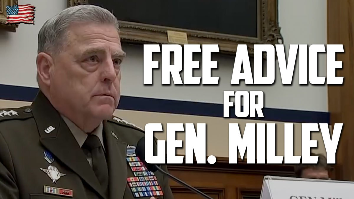 Schooling Gen. Mark Milley: A General Idea of Critical Race Theory for the Chair of the Joint Chiefs